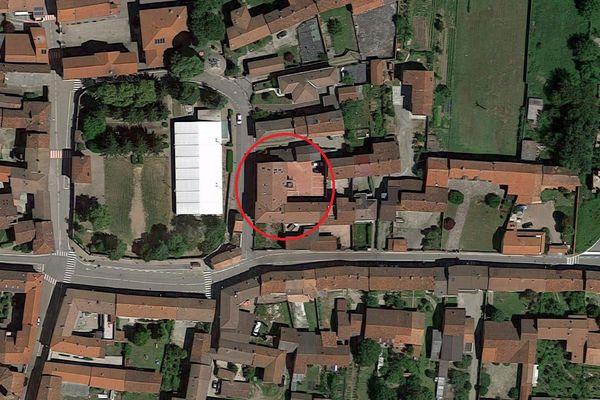 Immagine n1 - Planimetria - Vista aerea - Asta 6917