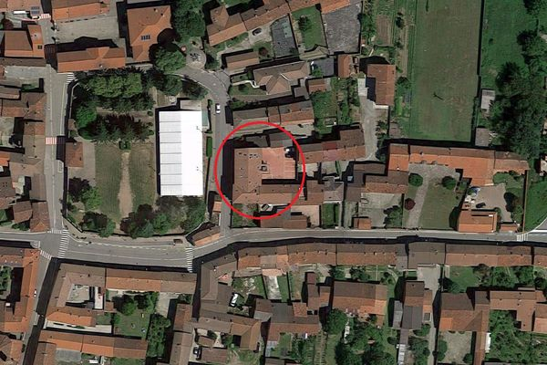 Immagine n0 - Planimetria - Vista aerea - Asta 6918
