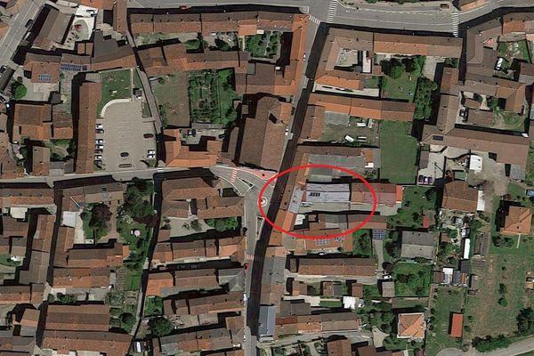 Immagine n1 - Planimetria - Vista aerea - Asta 6922