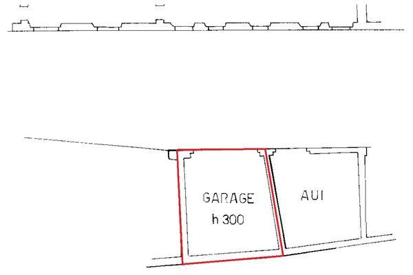 Immagine n2 - Planimetria - Autorimessa - Asta 6922