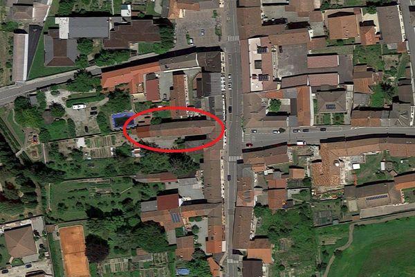 Immagine n1 - Planimetria - Vista aerea - Asta 6924