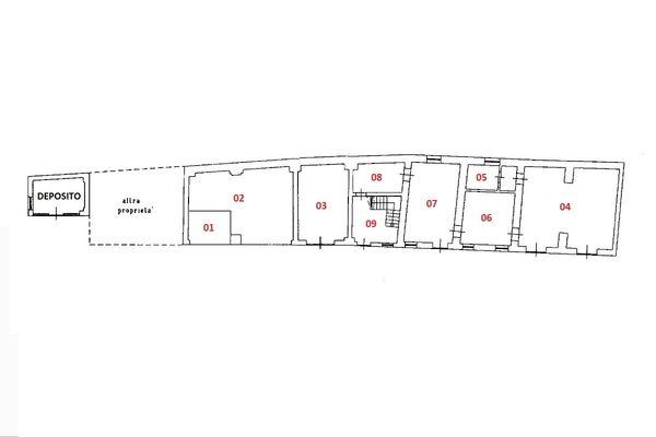 Immagine n1 - Planimetria - Piano terra - Asta 6924