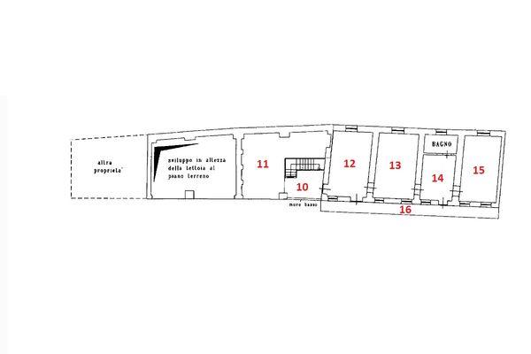 Immagine n1 - Planimetria - Piano primo - Asta 6924