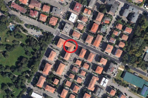 Immagine n0 - Planimetria - Vista aerea - Asta 6953