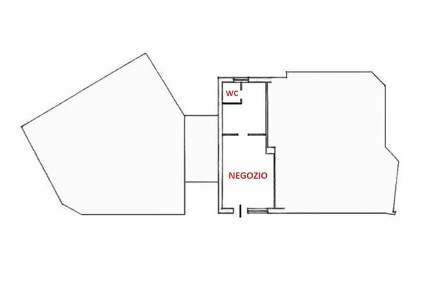 Immagine n1 - Planimetria - Piano terra - Asta 6955