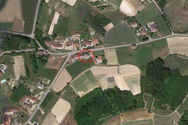 Immagine n0 - Planimetria - Vista aerea - Asta 6967