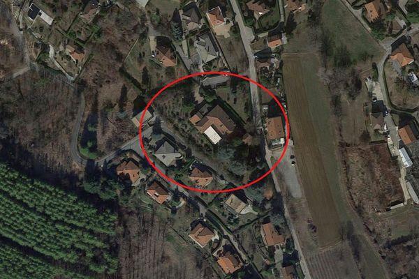 Immagine n0 - Planimetria - Vista aerea - Asta 6972