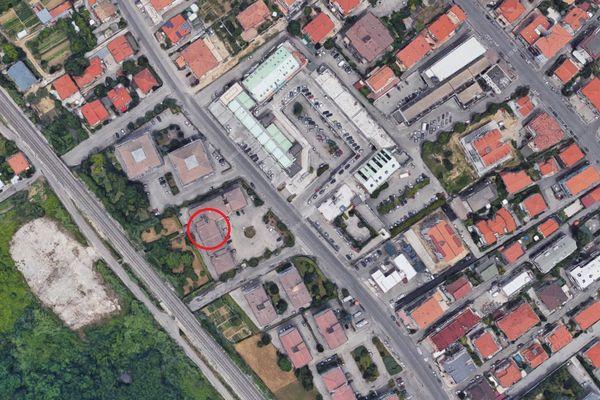 Immagine n1 - Planimetria - Vista aerea - Asta 7007