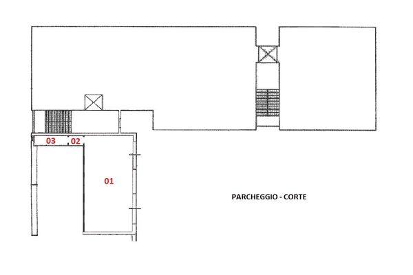 Immagine n1 - Planimetria - Piano terra - Asta 7007