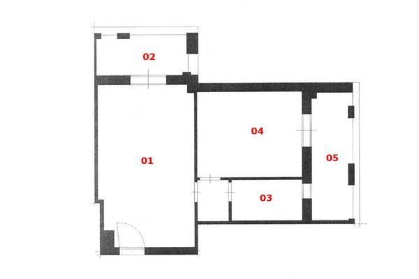 Immagine n0 - Planimetria - Piano secondo - Asta 7025