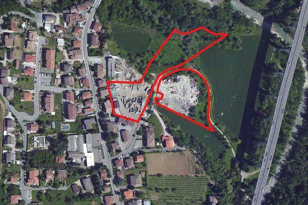 Immagine n0 - Planimetria - Vista aerea - Asta 703