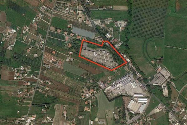 Immagine n0 - Planimetria - Vista aerea - Asta 7031