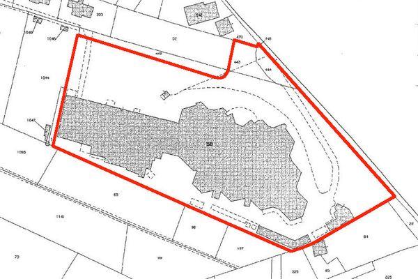 Immagine n1 - Planimetria - Estratto di mappa - Asta 7031