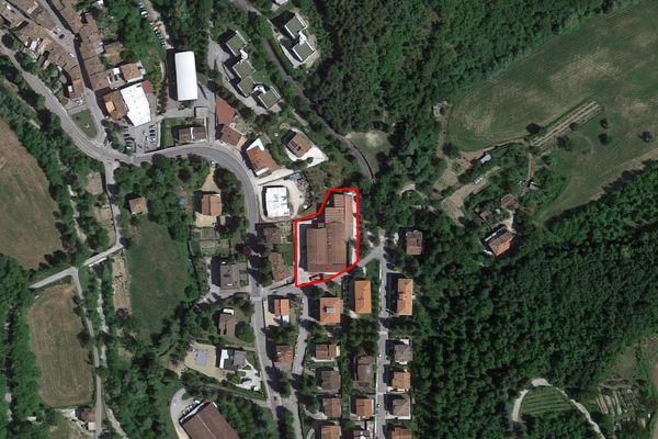 Immagine n0 - Planimetria - Vista aerea - Asta 7035