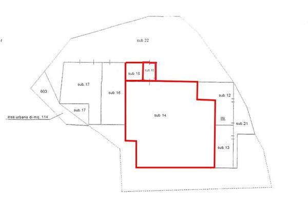 Immagine n1 - Planimetria - Elaborato planimetrico - Asta 7036