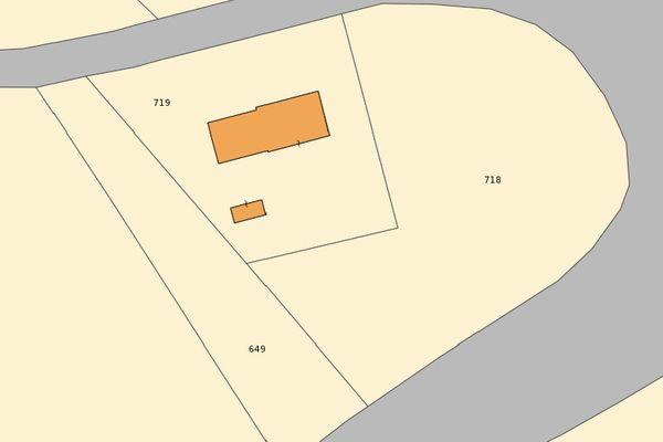 Immagine n3 - Planimetria - Estratto di mappa - Asta 7037