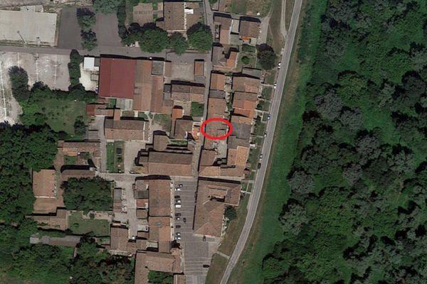 Immagine n0 - Planimetria - Vista aerea - Asta 7069