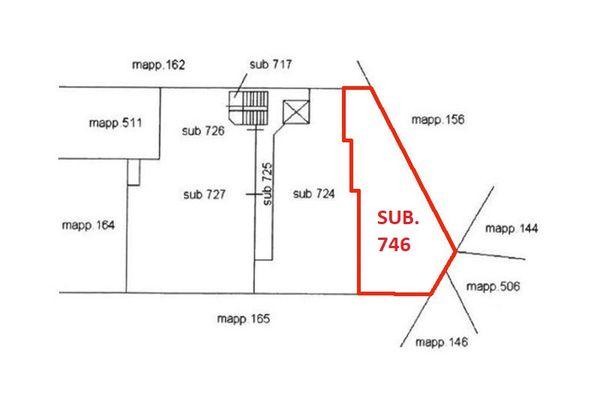 Immagine n1 - Planimetry - First floor - Asta 7077