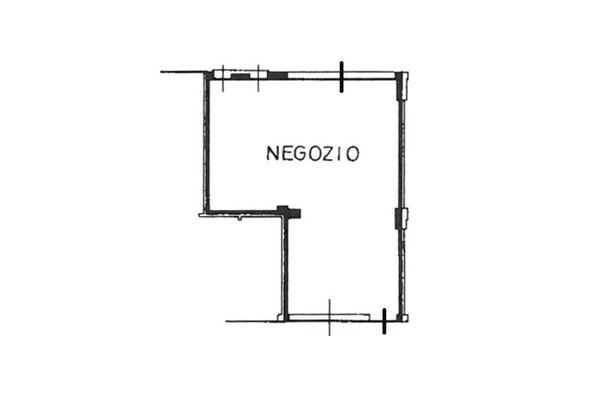 Immagine n0 - Planimetry - Ground floor - Asta 7078
