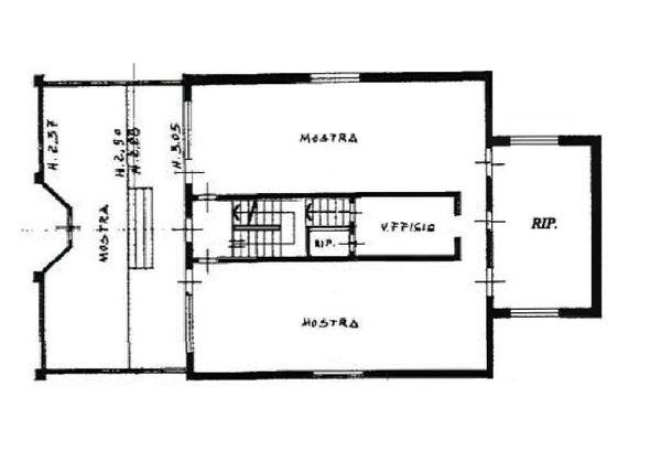 Immagine n2 - Planimetria - Piano terra - Asta 708