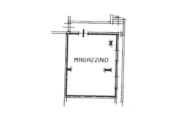 Immagine n0 - Planimetria - Piano secondo interrato - Asta 7084
