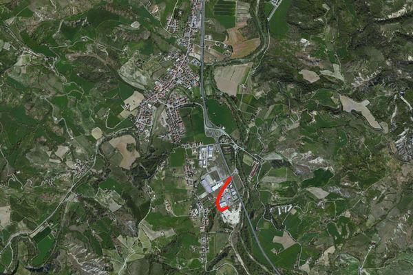 Immagine n0 - Planimetria - Vista aerea - Asta 709