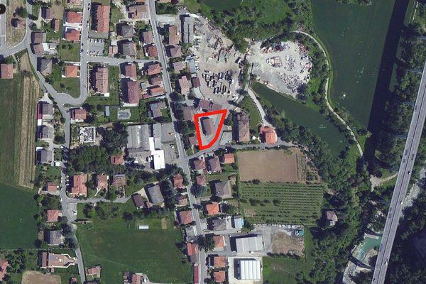 Immagine n0 - Planimetria - Vista aerea - Asta 711