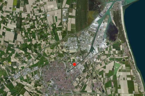 Immagine n1 - Planimetria - Vista aerea - Asta 712