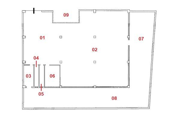 Subasta 7131: Laboratorio con patio privado sub 11 y
