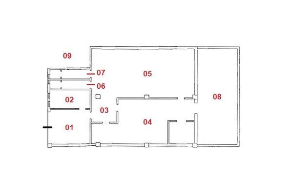 Immagine n0 - Planimetria - Piano terra - Asta 7132