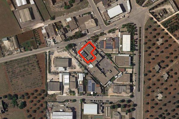 Immagine n0 - Planimetria - Vista aerea - Asta 7133