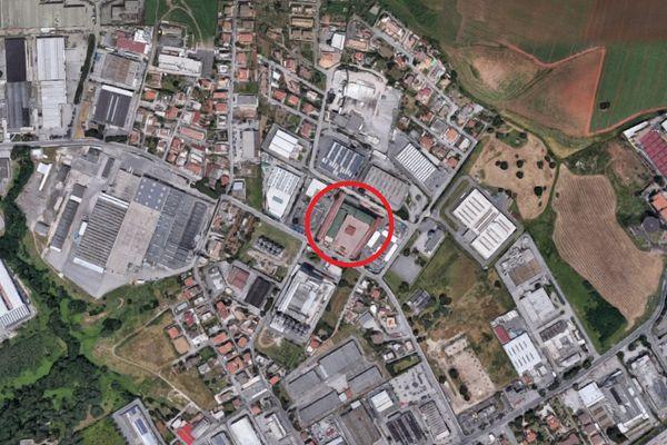 Immagine n0 - Planimetria - Vista aerea - Asta 7135