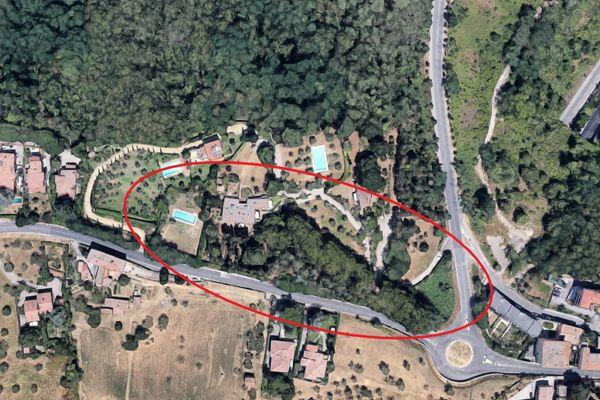 Immagine n1 - Planimetria - Vista aerea - Asta 7137