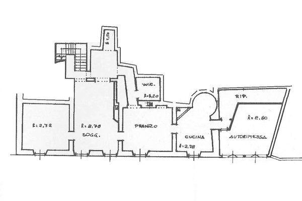 Immagine n3 - Planimetria - Piano terra - Asta 7137