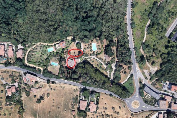 Immagine n1 - Planimetria - Vista aerea - Asta 7138