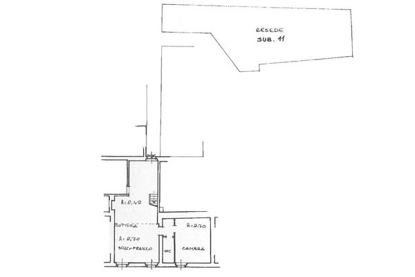 Immagine n1 - Planimetria - Piano secondo - Asta 7138