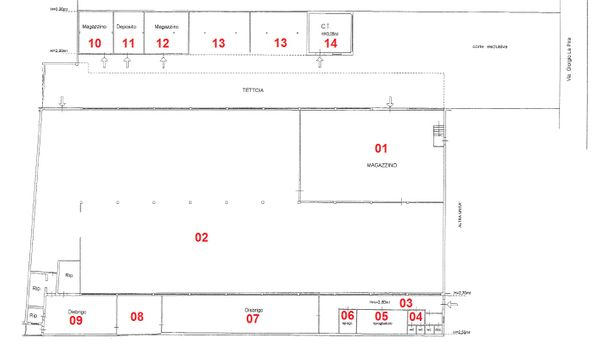 Immagine n13 - Planimetria - B - Piano terra - Asta 714