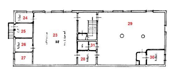 Immagine n8 - Planimetria - A - Piano seminterrato - Asta 714