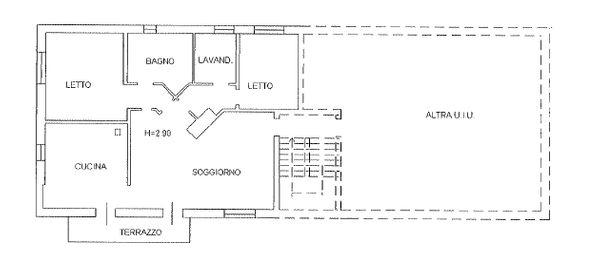 Immagine n0 - Planimetria - A - Piano primo - Asta 714