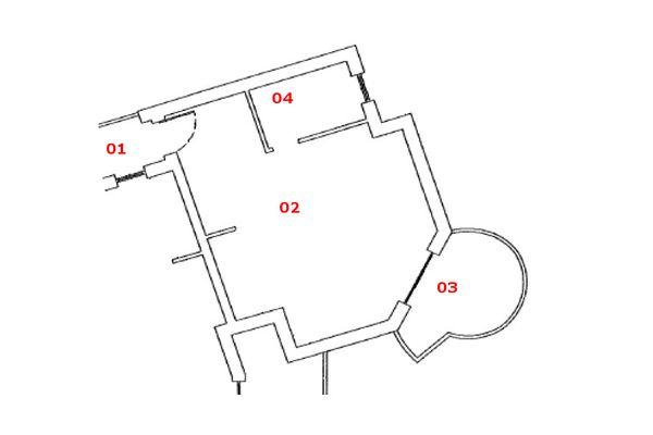 Immagine n1 - Planimetria - Piano primo - Asta 7165