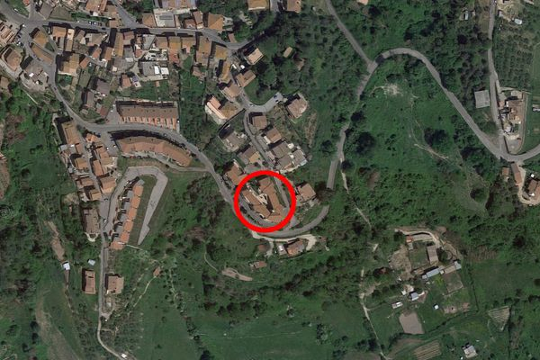 Immagine n0 - Planimetria - Vista aerea - Asta 7166