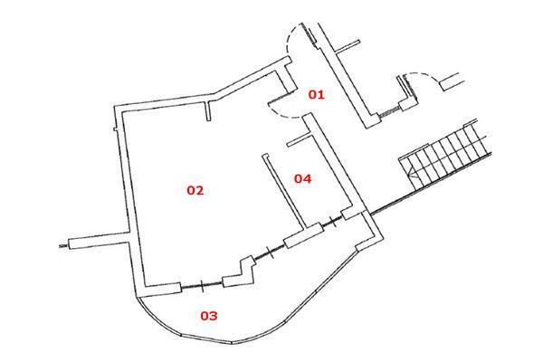 Immagine n1 - Planimetria - Piano primo - Asta 7166