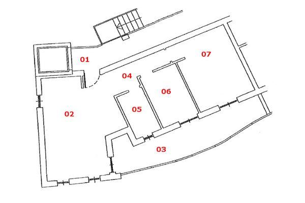 Immagine n1 - Planimetria - Piano secondo - Asta 7168