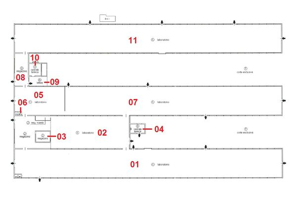 Immagine n10 - Planimetria - Capannone - Asta 723