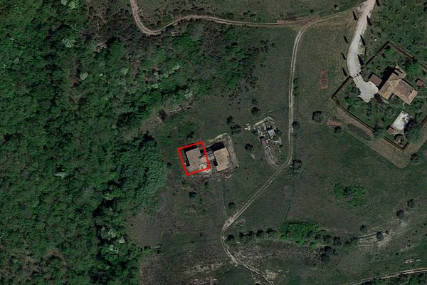 Immagine n1 - Planimetria - Vista aerea - Asta 7271