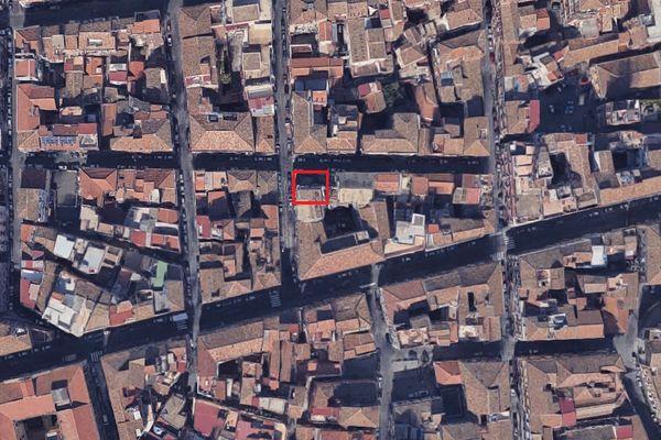 Immagine n1 - Planimetria - Vista aerea - Asta 7303