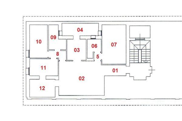 Immagine n0 - Planimetria - Piano terzo - Asta 7310