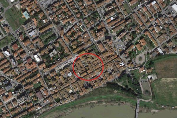 Immagine n0 - Planimetria - Vista aerea - Asta 7317