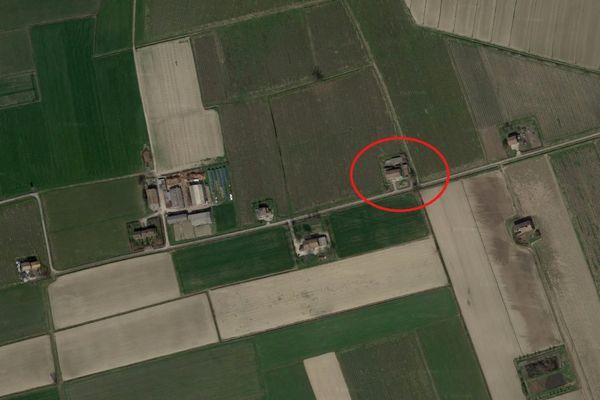 Immagine n0 - Planimetria - Vista aerea - Asta 7320