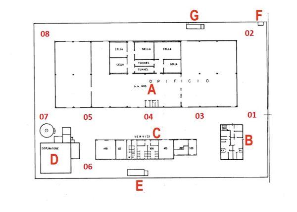 Immagine n8 - Planimetria - Piano terra - Asta 7321